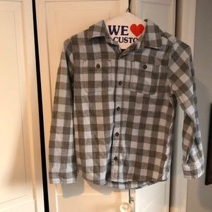 Osh kosh plaid shirt boys
